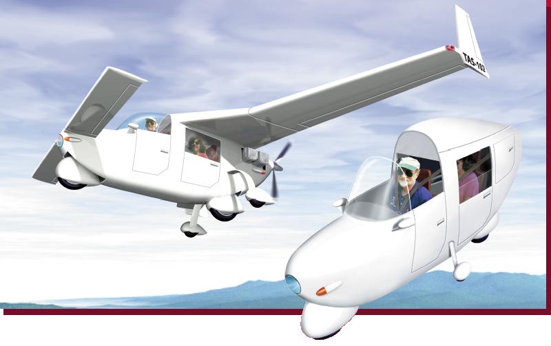 TAS-102 flying motorcycle